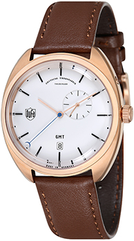 Наручные  мужские часы DuFa DF-9005-04. Коллекция Gotha Gmt