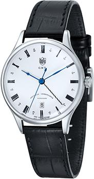 Наручные  мужские часы DuFa DF-9006-02. Коллекция Weimar Gmt