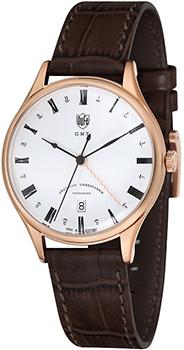 Наручные  мужские часы DuFa DF-9006-04. Коллекция Weimar Gmt