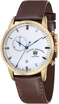 Наручные  мужские часы DuFa DF-9007-04. Коллекция Weimar Chrono