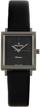 Наручные  женские часы Romanson DL2133SLW(BK). Коллекция Titanium