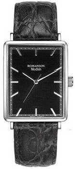Наручные  женские часы Romanson DL5163SLW(BK). Коллекция Modish