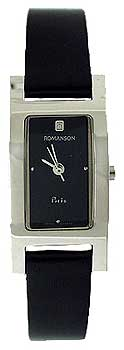 Наручные  женские часы Romanson DL9198SLW(BK). Коллекция Phil