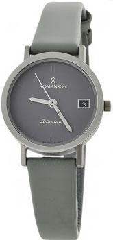 Наручные  женские часы Romanson DL9782SLW(GR). Коллекция Titanium