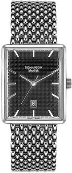 Наручные  женские часы Romanson DM5163LW(BK). Коллекция Modish