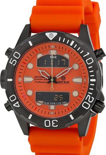Мужские наручные часы в коллекции Depthmeter Ana/Digi Deep Blue