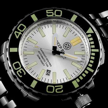 Швейцарские наручные  мужские часы Deep Blue DNOPSPROSIL. Коллекция DayNight Ops Pro