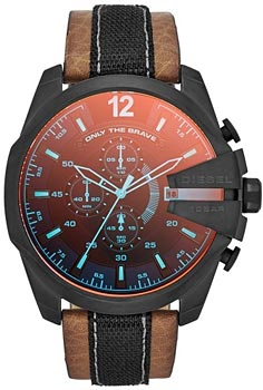 fashion наручные  мужские часы Diesel DZ4305. Коллекция Mega Chief