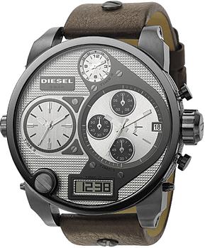 fashion наручные  мужские часы Diesel DZ7126. Коллекция Mr. Daddy