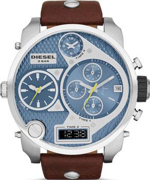 fashion наручные  мужские часы Diesel DZ7322. Коллекция Mr. Daddy