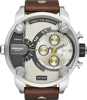 fashion наручные  мужские часы Diesel DZ7335. Коллекция Little Daddy
