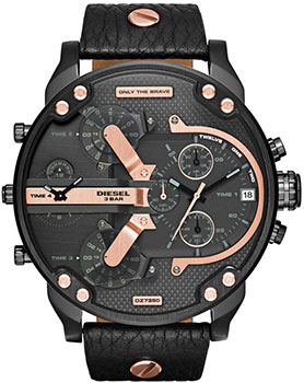fashion наручные  мужские часы Diesel DZ7350. Коллекция Mr. Daddy