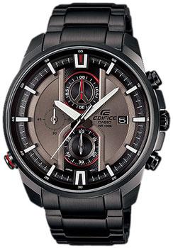 Японские наручные  мужские часы Casio EFR-533BK-8A. Коллекция Edifice