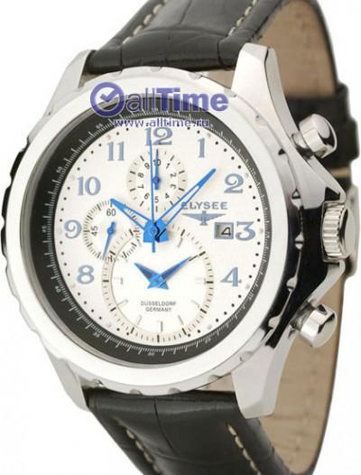 Мужские наручные немецкие часы в коллекции Chronograph Elysee