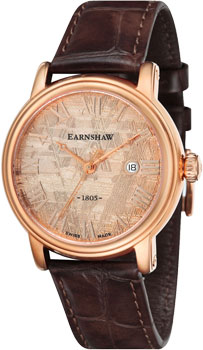 fashion наручные  мужские часы Earnshaw ES-0026-03. Коллекция Meteorite
