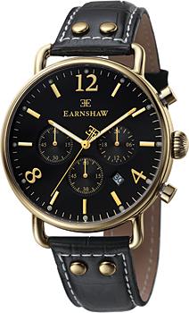 fashion наручные  мужские часы Earnshaw ES-8001-01. Коллекция Investigator