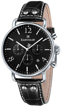 fashion наручные  мужские часы Earnshaw ES-8001-03. Коллекция Investigator
