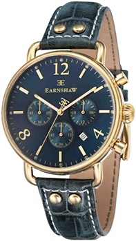 fashion наручные  мужские часы Earnshaw ES-8001-06. Коллекция Investigator