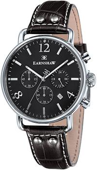 fashion наручные  мужские часы Earnshaw ES-8001-08. Коллекция Investigator