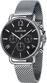 fashion наручные  мужские часы Earnshaw ES-8001-11. Коллекция Investigator