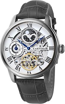 fashion наручные  мужские часы Earnshaw ES-8006-01. Коллекция Longitude