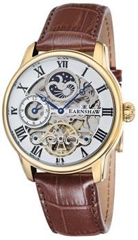 fashion наручные  мужские часы Earnshaw ES-8006-02. Коллекция Longitude