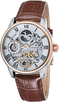 fashion наручные  мужские часы Earnshaw ES-8006-03. Коллекция Longitude