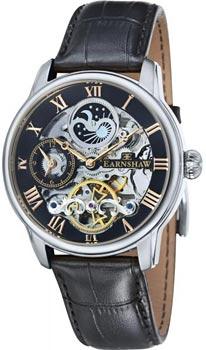 fashion наручные  мужские часы Earnshaw ES-8006-04. Коллекция Longitude