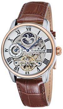 fashion наручные  мужские часы Earnshaw ES-8006-08. Коллекция Longitude