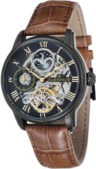 fashion наручные  мужские часы Earnshaw ES-8006-10. Коллекция Longitude