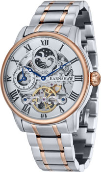 fashion наручные  мужские часы Earnshaw ES-8006-33. Коллекция Longitude