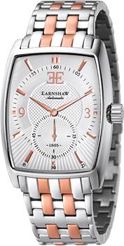fashion наручные  мужские часы Earnshaw ES-8009-33. Коллекция Robinson