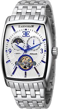 fashion наручные  мужские часы Earnshaw ES-8010-22. Коллекция Robinson