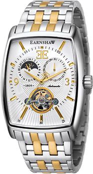 fashion наручные  мужские часы Earnshaw ES-8010-33. Коллекция Robinson