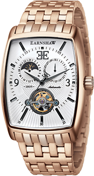 fashion наручные  мужские часы Earnshaw ES-8010-44. Коллекция Robinson