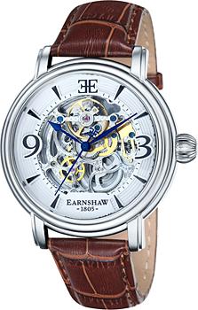 fashion наручные  мужские часы Earnshaw ES-8011-01. Коллекция Longcase