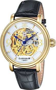 fashion наручные  мужские часы Earnshaw ES-8011-04. Коллекция Longcase