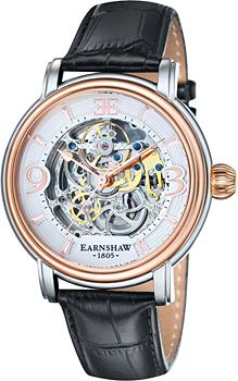 fashion наручные  мужские часы Earnshaw ES-8011-06. Коллекция Longcase