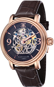 fashion наручные  мужские часы Earnshaw ES-8011-07. Коллекция Longcase