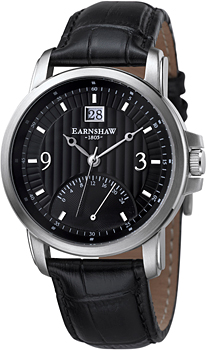 fashion наручные  мужские часы Earnshaw ES-8020-01. Коллекция Fitzroy
