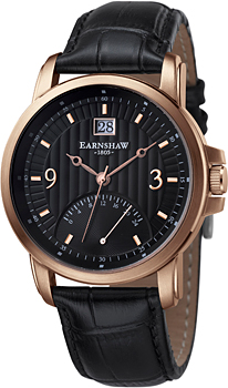 fashion наручные  мужские часы Earnshaw ES-8020-04. Коллекция Fitzroy