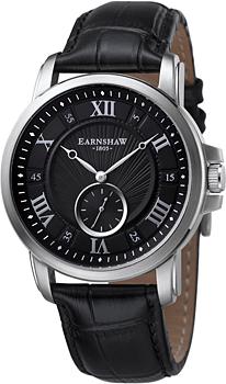 fashion наручные  мужские часы Earnshaw ES-8021-01. Коллекция Fitzroy