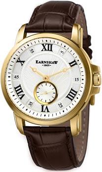 fashion наручные  мужские часы Earnshaw ES-8021-03. Коллекция Fitzroy