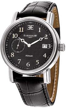fashion наручные  мужские часы Earnshaw ES-8027-01. Коллекция Fitzroy