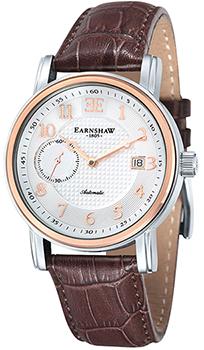 fashion наручные  мужские часы Earnshaw ES-8027-03. Коллекция Fitzroy