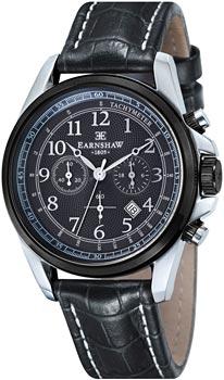 fashion наручные  мужские часы Earnshaw ES-8028-07. Коллекция Commodore