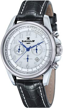 fashion наручные  мужские часы Earnshaw ES-8028-10. Коллекция Commodore