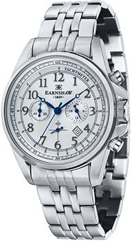 fashion наручные  мужские часы Earnshaw ES-8028-11. Коллекция Commodore