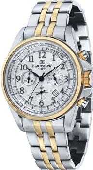 fashion наручные  мужские часы Earnshaw ES-8028-44. Коллекция Commodore