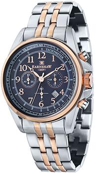 fashion наручные  мужские часы Earnshaw ES-8028-77. Коллекция Commodore